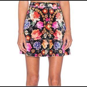 Mink pink mini skirt 💜